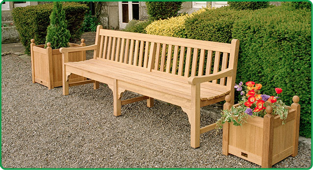 Traditional Wooden Bench Mccall S Woodworking Furniture