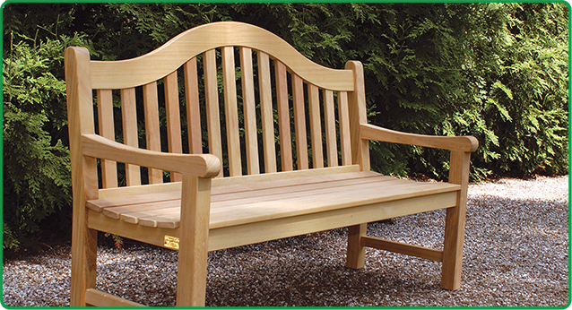 Wooden Keadeen Bench-