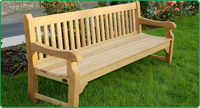 Wooden Majestic bench-