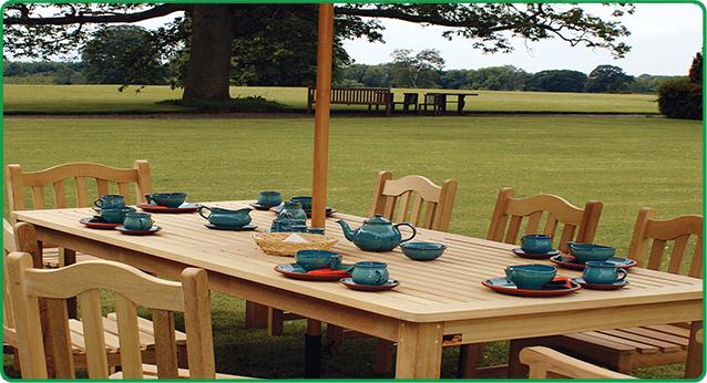 Wooden Rectangular Table-