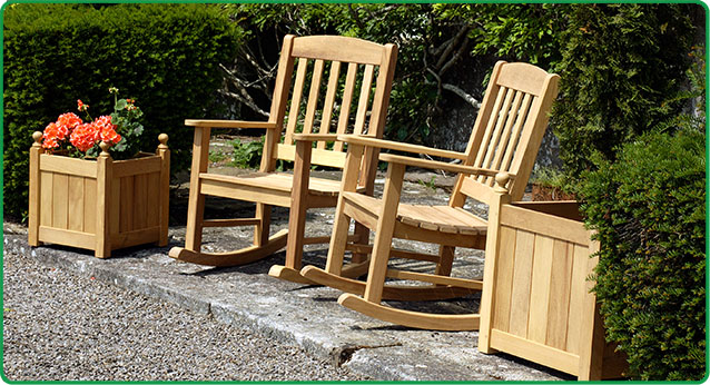 Wooden Rocking chairs-