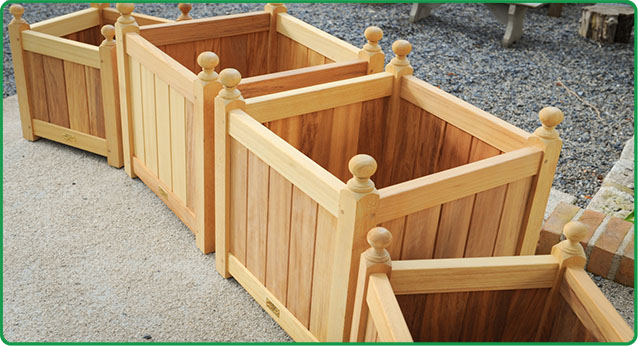 Wooden Planter box 8-